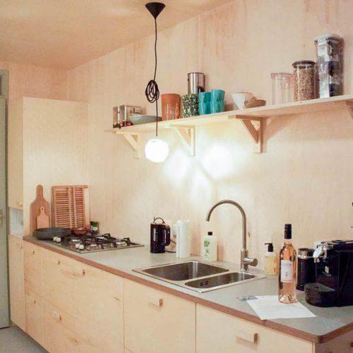 Een keuken op maat in een strandhuis